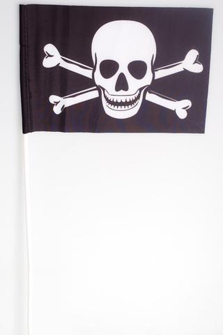 Купить пиратский флажок на палочке - Магазин тельняшек.ру 8-800-700-93-18