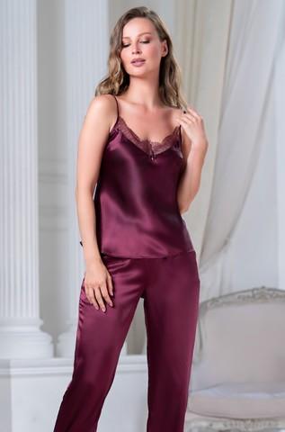 Шелковый брючный комплект 3 предмета Mia-Amore SHARON ШЕРОН 3806