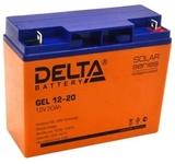 Аккумулятор Delta GEL 12-20  ( 12V 20Ah / 12В 20Ач ) - фотография