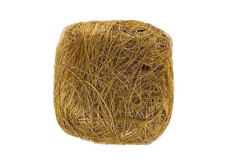 Волокно сизаля 100г (Цвет: оливковое)