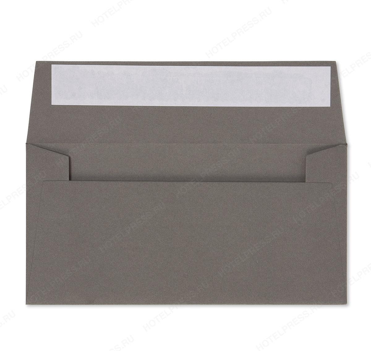 Конверт формата Е65 из плотной дизайнерской бумаги
