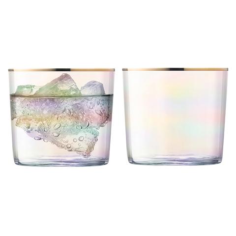 Набор из 2 стаканов Sorbet, 310 мл, розовый перламутр