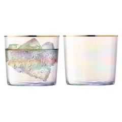 Набор из 2 стаканов Sorbet, 310 мл, розовый перламутр, фото 1
