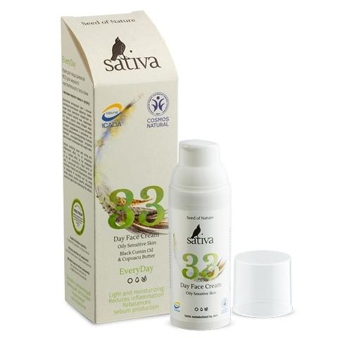Крем для лица дневной №33 | 50 мл | Sativa