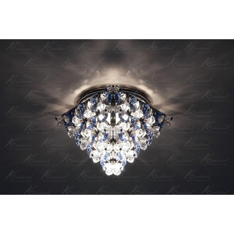Встраиваемый светильник Kantarel Cairo CD 016.3.4 med sapph(8502)