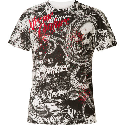Футболка BLACKTOOTH WHITE Xtreme Couture от Affliction
