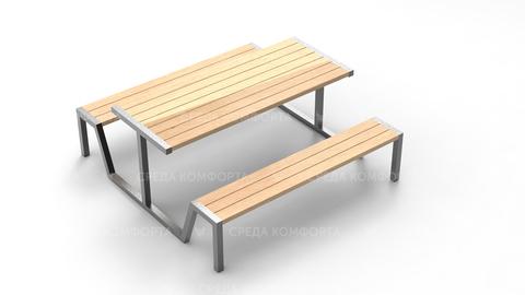 Скамейка со столом SCAM0228