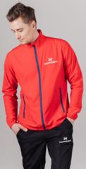 Беговая куртка Nordski Motion Red-Dark Blue