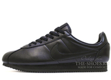 Кроссовки Мужские Nike Cortez New Collection All Black Leather