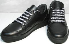 Кроссовки туфли женские Rifelini by Rovigo 121-1 All Black
