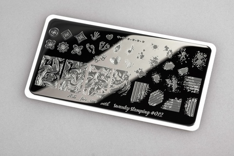 Пластина Swanky Stamping x Arti for you №012