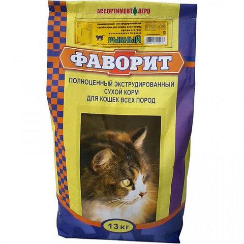 Корм Фаворит для кошек Зоотовары 1кг