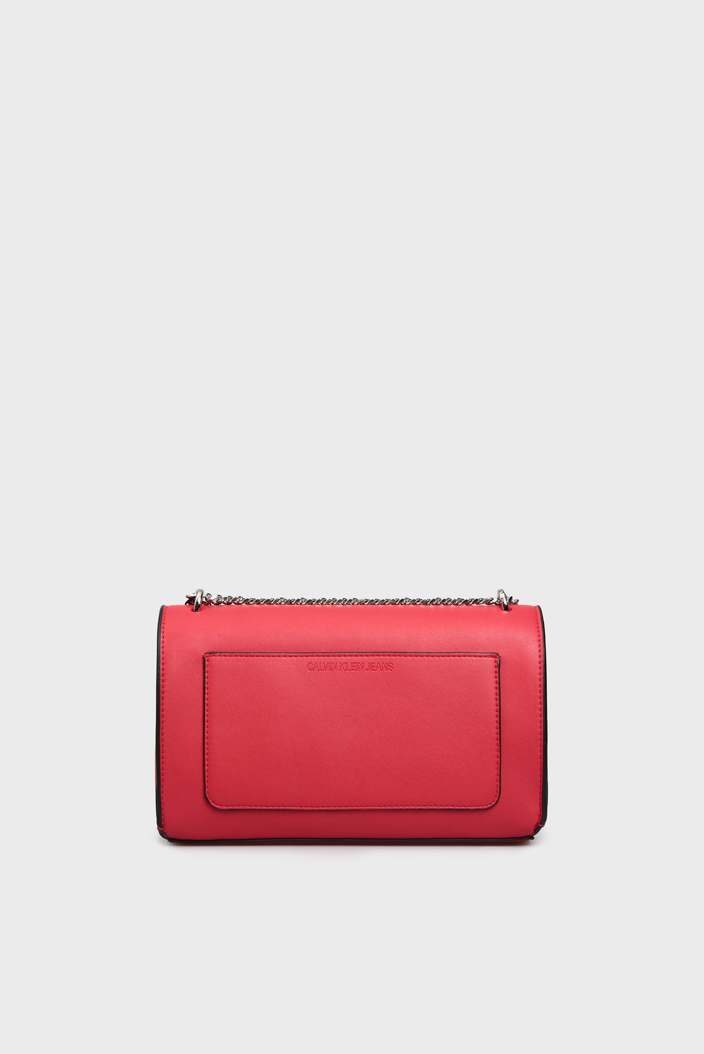 Женская красная сумка через плечо Calvin Klein