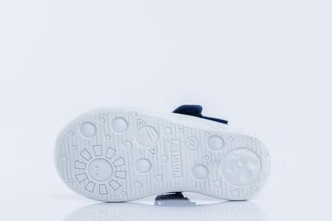 Туфли текстильные с цветами, Котофей (ТК Луч)