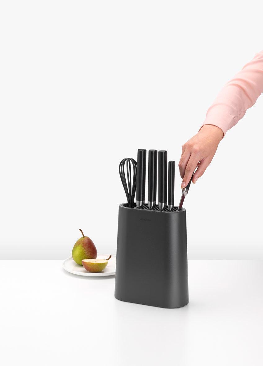 Подставка для ножей с отделением для кухонных принадлежностей, арт. 129889 - фото 1