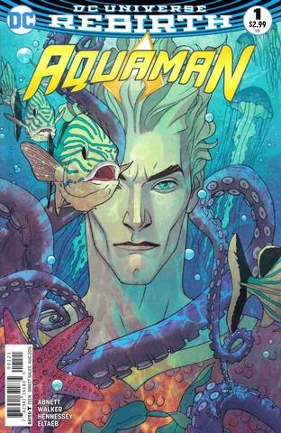DC Rebirth. Aquaman #1