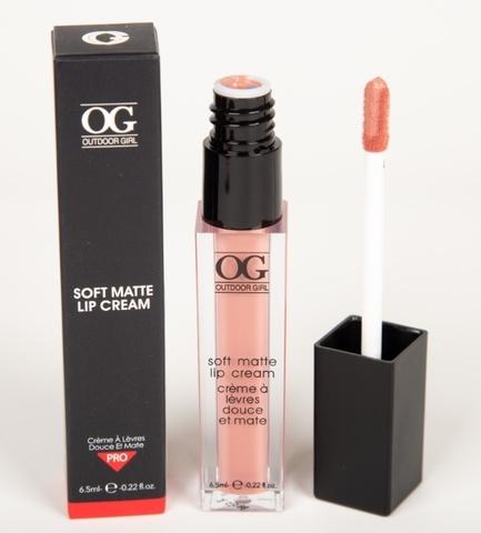 OG-C1195 Блеск для губ ультра-матовый SOFT MATTE LIP CREAM тон 18 Розовый крем