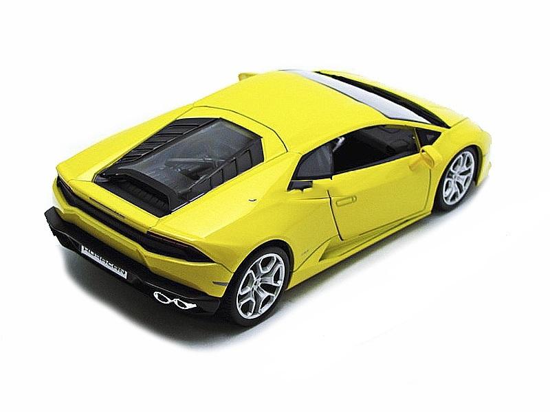 Коллекционная модель Lamborghini Huracan LP610-4 2014 Yellow Metallic