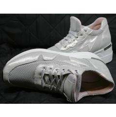 Сникерсы кроссовки Topas 4C-8045 Silver.