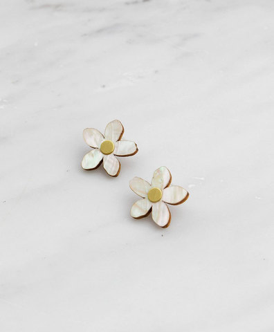 Серьги Mini Orange Blossom Studs