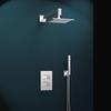 Встраиваемый смеситель для душа с душевым комплектом KUATRO K4715021 на 2 выхода - фото №2