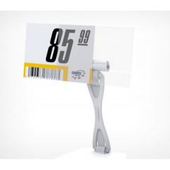 Карман для ценника ПЭТ 40x70 мм (20 штук в упаковке)
