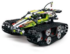 Конструктор Техник 13023 Скоростной Вездеход: зелёный с дистанционным управлением 410 дет