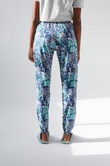 Длинные синие брюки из хлопка, созданные совместно с Coordonné