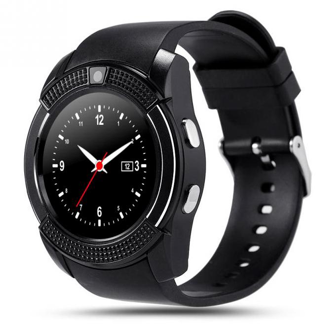 Умные часы/будильники Умные часы Smart Watch V8 HTB-black.jpg