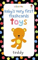Baby's Very First Flashcards: Toys