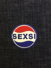 Нашивка Секси-Пепси