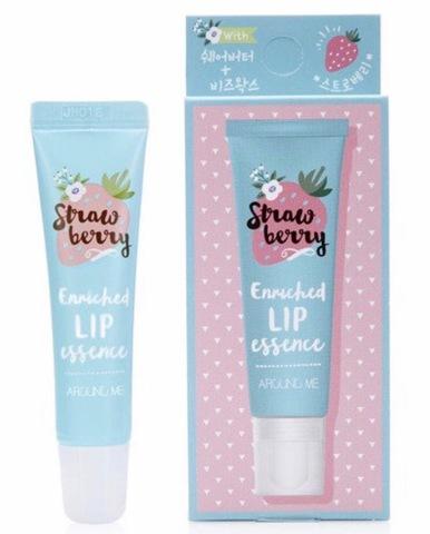 Эссенция для губ Around Me  Enriched Lip Essence Strawberry с экстрактом клубники 8.7 гр.