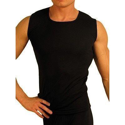 Мужская термобезрукавка черная Doreanse 2460