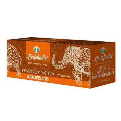 Чай DARJEELING черный индийский пакет 25г Bestofindia
