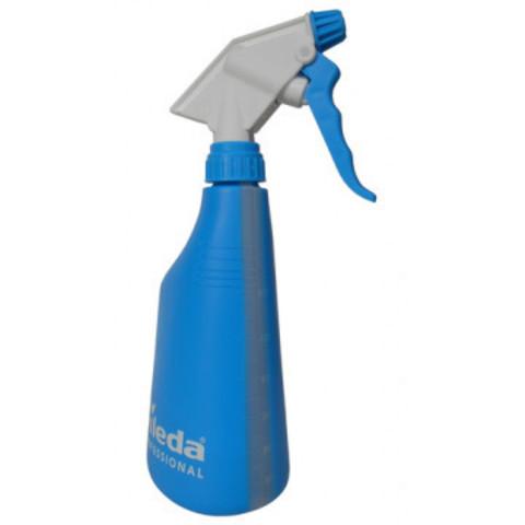 Флакон Vileda Professional спрей-бутылочка с мерной шкалой синяя (без средства) артикул производителя 158213