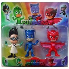 Герои в масках набор игрушек Кэтбой Гекко Лунная девочка