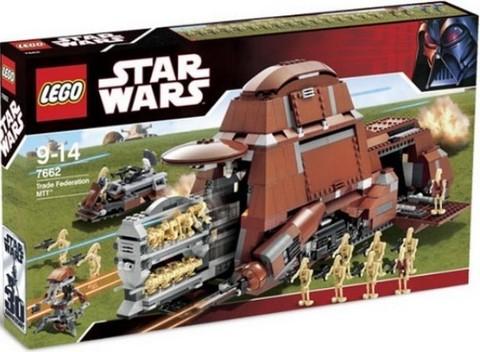 LEGO Star Wars: Многоцелевой транспорт торговой федерации 7662 — Trade Federation MTT — Лего Звездные войны Стар Ворз
