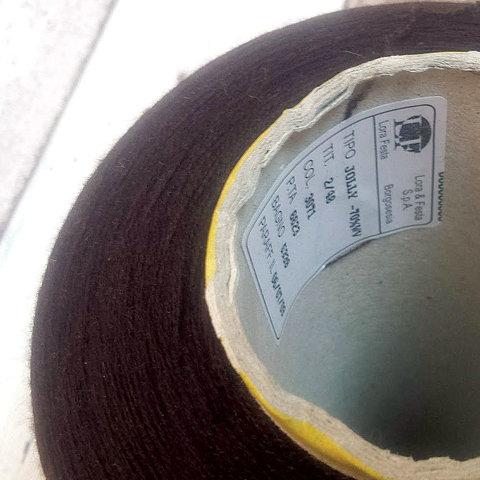 Меринос с кашемиром и шелком LORA FESTA / JOLLY 2/48 шоколадный