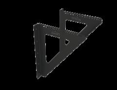 Grill'D Консоль настенная (L400 ), черный (порошковая краска)