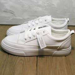 Женские кроссовкие кеды белые El Passo 820 All White.