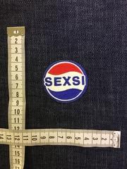 Нашивка Секси-Пепси размеры
