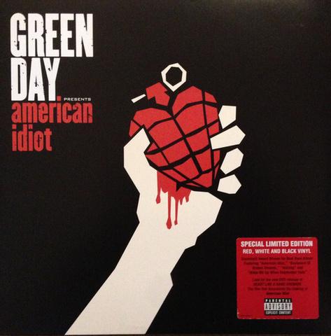 Виниловая пластинка. Green Day - American Idiot
