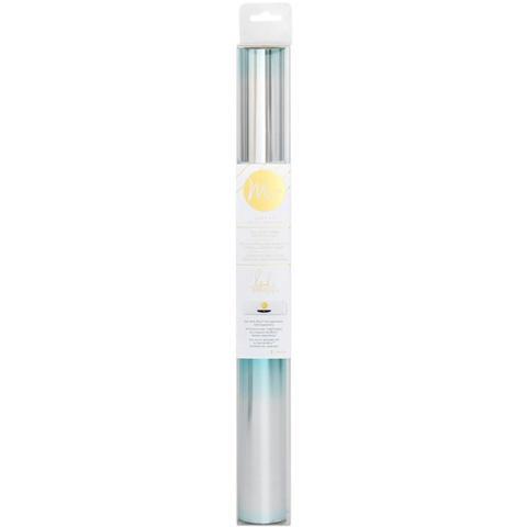 Тонерочувствительная фольга для MINC от Heidi Swapp- Teal/Silver Ombre 5' Roll