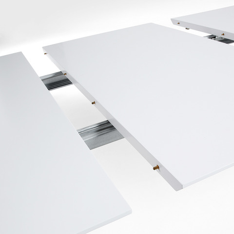 Стол Quatre 160(260)x100 белый