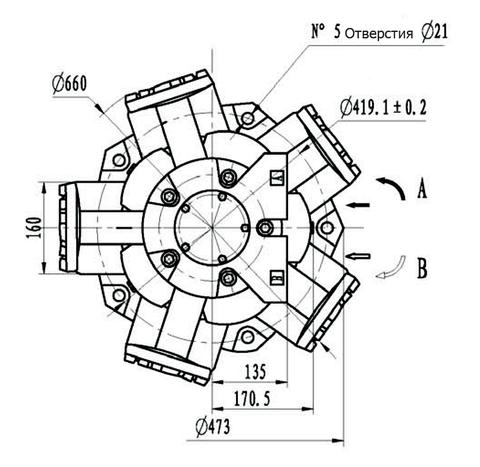 Гидромотор IMB 200-2400
