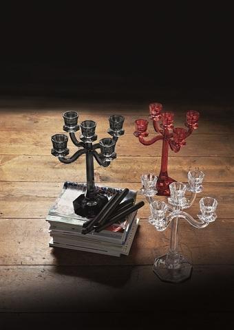 Подсвечник на 5 свечей Red артикул 71192. Серия Ravello