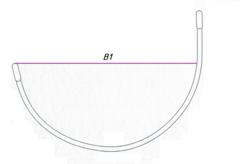 Каркасы для бюстгальтера металлические  (Стандарт)