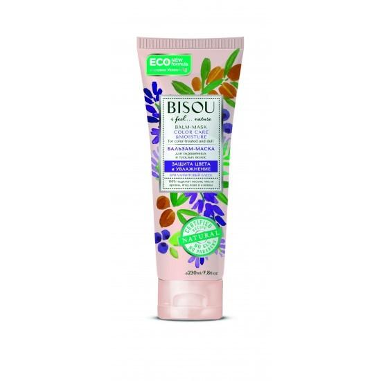 Бальзам-маска для волос Bisou Защита цвета и  увлажнение 230 мл