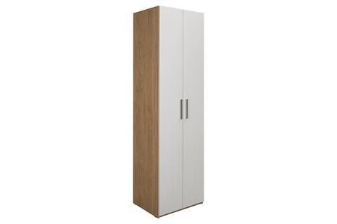 Шкаф комбинированный Гравити 13.20 Моби гикори рокфорд натуральный/белый