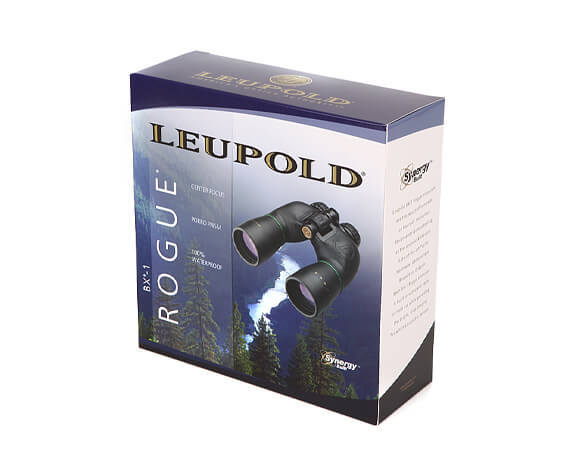 Бинокль Leupold BX-1 Rogue 10x50 Porro, черный - фото 4